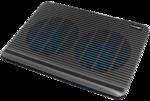 """Подставка для ноутбука охлажд. Crown CMLC-1101 black 17"""""""