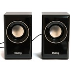 Колонки 2.0 Dialog Stride AST-15UP RMS 6W, USB, МДФ, чёрный
